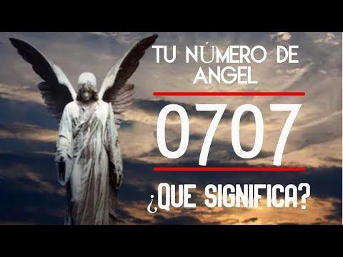 Significado Del Número 0707  - En Numerología De Los Ángeles 🌟🌟