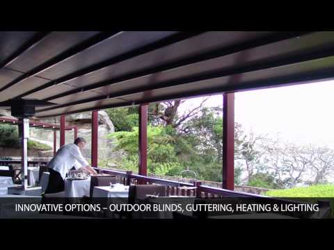 Patio Retractable Roofs by Viva Sunscreens