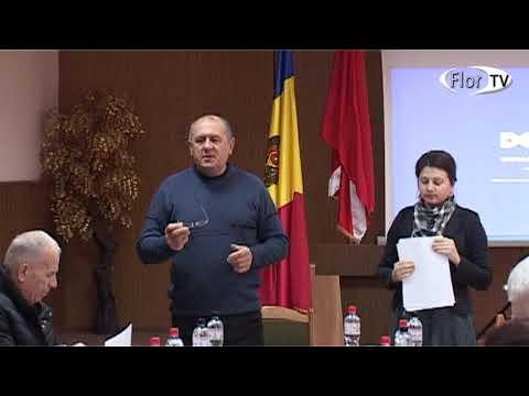 Ședința consiliului orășenesc Florești din data de 06.12.2018
