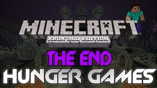 """Minecraft: Xbox 360 - The Hunger Games - """"The End"""" W/ Download (PvP Survival Map)"""