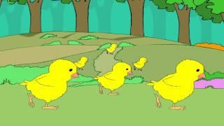 Cock-a-doodle-doo -  English Nursery Rhymes - English Cartoon Nursery Rhymes