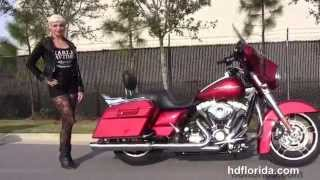 8. Used 2013 Harley Davidson Street Glide Motorcycles for sale