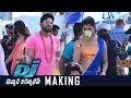 Dj Duvvada Jagannadham Gudilo Badilo Madilo Song Making   Allu Arjun   Pooja   Working   TFPC