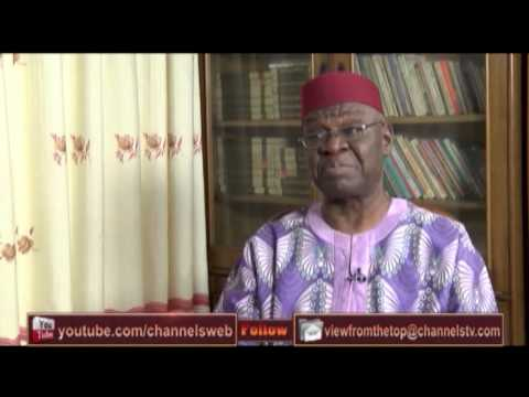 View From The Top Hosts Former Finance Minister, Kalu Idika Kalu PT1