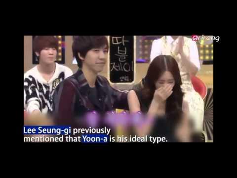 Lee Seung Gi And Yoona Dating Eng Sub