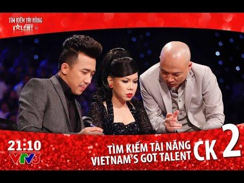 Vietnam's Got Talent 2016 - CHUNG KẾT 2 - TẬP 16 (06/05/2016)