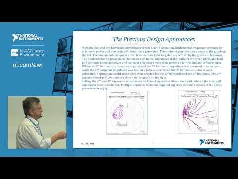 PA Design: NI AWR Design Environment and AMPSA