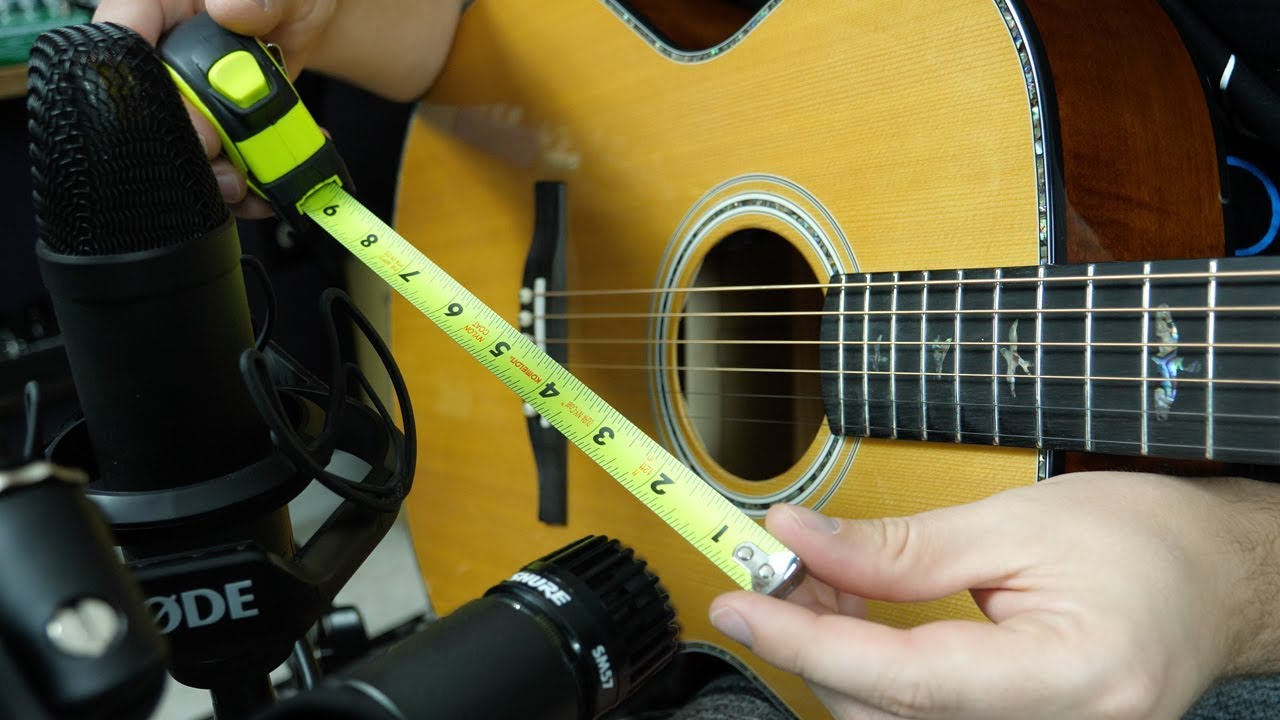 How to Mic an Acoustic Guitar Like a Pro