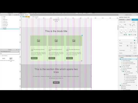 Axure RP8 - Adaptive Widgets - Adaptive Axure Library