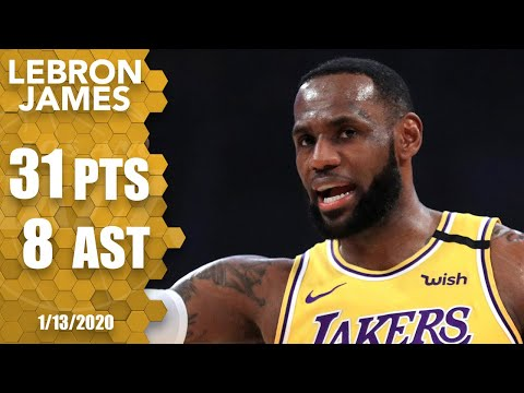 LeBron James heats up in second half, goes off for 31 points vs. Cavs | 2019-20 NBA Highlights