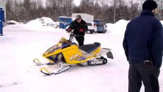 6. 2007 Ski-Doo MXZ 600 sdi XRS