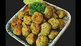 Spicy Chicken Kola Urundai Fry