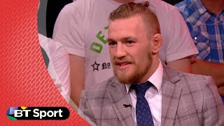 UFC189 Conor McGregor trash talking Chad Mendes | BT Sport