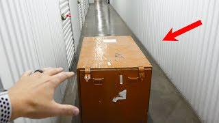Video What's inside an Abandoned Storage Unit? MP3, 3GP, MP4, WEBM, AVI, FLV November 2018