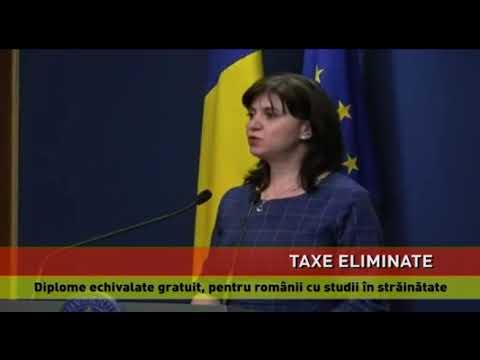 Diplomele românilor pentru studii în străinătate, echivalate gratuit