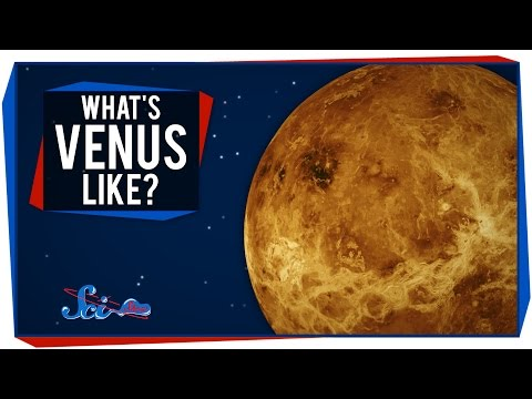 "What - SciShow Space takes you on a tour of Venus, a world with such an extreme environment that you might call it ""Earth's evil twin."" ---------- Like SciShow? Want to help support us, and..."