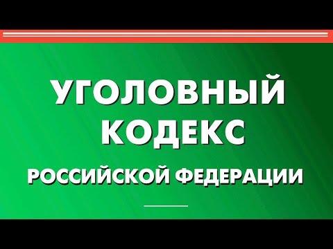 Статья 158 УК РФ. Кража (видео)