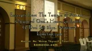 Video Ashra Kwesi - Excerpts from the Temple of Amen, Origin of God's House on Earth MP3, 3GP, MP4, WEBM, AVI, FLV Juni 2019