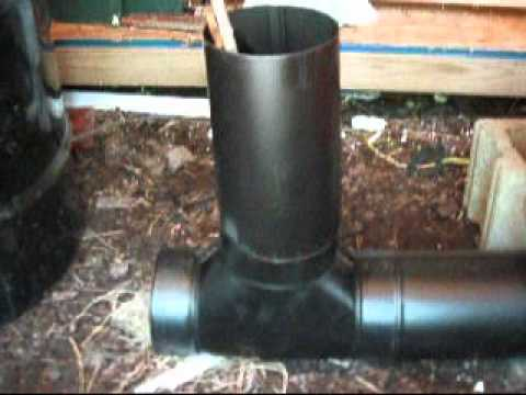 Rocket stove hot water boiler pt 1
