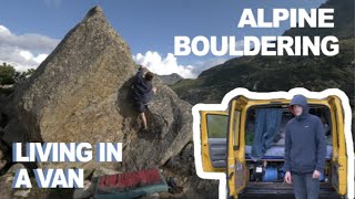 Bouldering In Silvaretta - low grade gems by Bouldering DabRats