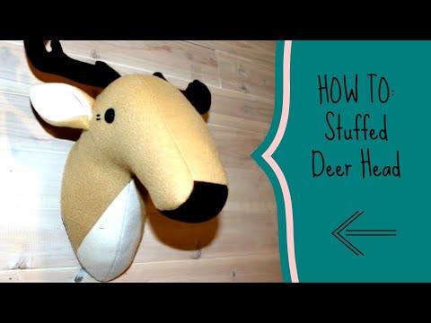 HOW TO: Stuffed Deer Head