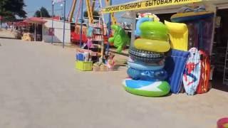 Голубицкая 2016 - 06- 28 - Обстановка на Центральном пляже