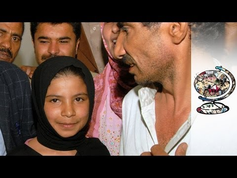 bride - Renewed calls for end to Yemen's child brides For downloads and more information visit: http://www.journeyman.tv/65997/short-films/the-youngest-bride.html Th...