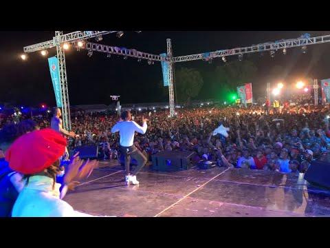 Innoss'B Ft. Diamond Platnumz - Yo Pe Live @ Wasafi Festival - 9 nov 2019