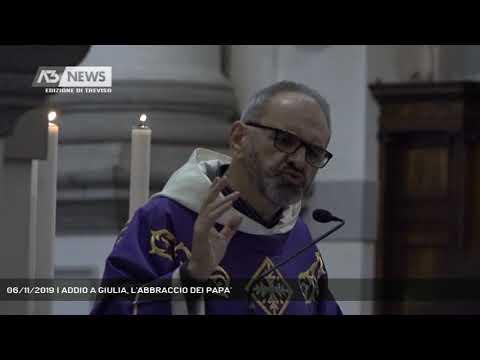 06/11/2019 | ADDIO A GIULIA, L'ABBRACCIO DEI PAPA'