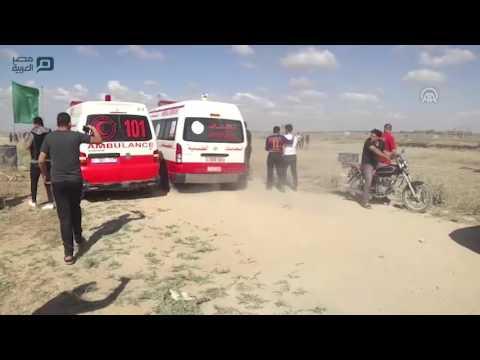 مصر العربية   إصابة 3 فلسطينيين بمواجهات مع الجيش الإسرائيلي على حدود غزة