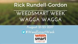 Video Rick Rundell-Gordon | WeedSmart Week 2017 MP3, 3GP, MP4, WEBM, AVI, FLV November 2017