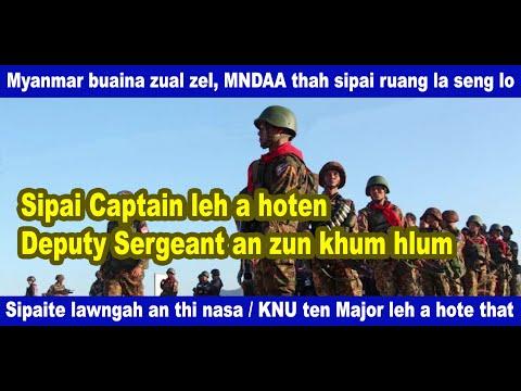 Myanmar buaina a zual zel, MNDAA te thah sipai ruang la seng lo, Sipai lawngah an thi nasa, KNU ten