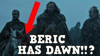 Game of Thrones season 7 Episode 1 had a huge easter egg that no one caught!!! Someone has Dawn The sword of the morning...
