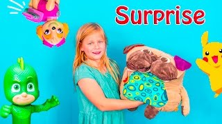 A Surprise Pockey Pillow with PJ Masks with Pokemon andPaw Patrol Surprise Toys!! Please Subscribe Here http://www.youtube.com/user/TheEngineeringFamily?sub_confirmation=1Check out our second channel - https://www.youtube.com/channel/UCPC55dCdzIjNJd421LbK3uwYou're going to go crazy over these awesome surprises inside the Pockey Pillow in this The Engineering Family YouTube video! Surprises for boys and girls including Nickelodeon Paw Patrol, Blaze and the Monster Machine, Disney Pixar Dory, Disney PJ Masks and more! Check out some of these other fun TheEngineeringFamily Treasure HuntsDISNEY SURPRISE TREASURE Secret Surprise Treasure with the Assistant a Disney World Video Surprise   https://youtu.be/a3c5pAJ-o-kPJ MASKS Disney Search For PJ Masks with Blaze and Paw Patrol Video  Adventure   https://youtu.be/4mV2sNE14PgAssistant Slip N Slide Bounce House Carnival Challenge Surprise Toys Video  https://youtu.be/HKE2lCvb6fMASSISTANT TREASURE HUNT Paw Patrol Look Out Hunt + toysZootopia + Lion Guard Toys Surprise Video  https://youtu.be/ECgPK35Gw3wOr these Playlists!  Funny Kids Videos     https://www.youtube.com/playlist?list=PLoLQ9unpi4OHXhaMeWT2y6P27pbuzKbckFeaturing the Assistant   https://www.youtube.com/playlist?list=PLoLQ9unpi4OGfgjxJsWnO878aLXo2TgXHAbout The Engineering FamilyWe are The Engineering Family, a family of educators working to show you how to make learning fun and engaging through toy unboxings, toy reviews, and original series designed to insight imaginative play within your family. With Mr. Engineer as an experienced engineer with a love of exploring new things, Mrs. Engineer an award winning teacher with a math and counseling focus, and their daughter The Assistant you can think of The Engineering channel as your imagination station. You can think of The Engineering Family channel as a Funbrain meets YouTube. This family is taking some of the coolest toys like Paw Patrol, Shimmer and Shine, Scooby Doo, PJ Masks, Doc Mcstuffins, and plenty of fun Real Life live action videos that help teach children valuable STEM content. As always... TheEngineeringFamily only features 100% suitable family fun entertainment.