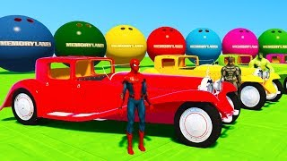 Learn colors oldtimer cars for babies with SuperheroesLEARN COLORS for kids w TRUCK Carshttps://youtu.be/4nBM2Lhw1WQCOLORS for Children with BUShttps://youtu.be/w-M-sACpdM4COLORS for Kids SUV Cars Transportationhttps://youtu.be/M2qY_MPDbFYColors For Babies With Bulldozer 3D https://youtu.be/PrmpTk2L9dY