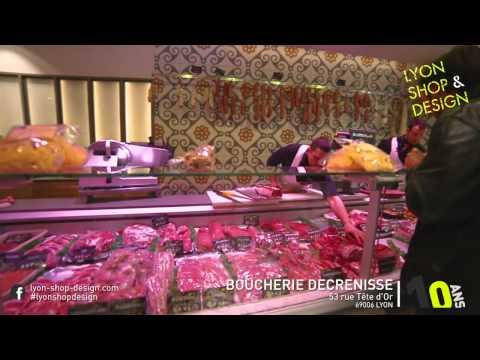 Boucherie Charcuterie Decrenisse – Finaliste concours Lyon Shop & Design 2015