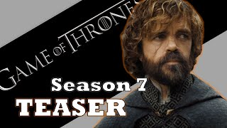 Excited for the next season of Game of Thrones!?! Check out this teaser trailer from San Diego Comic-Con and my rough review of it! https://www.youtube.com/w...