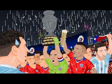 Parodia animada de la Copa América 2015