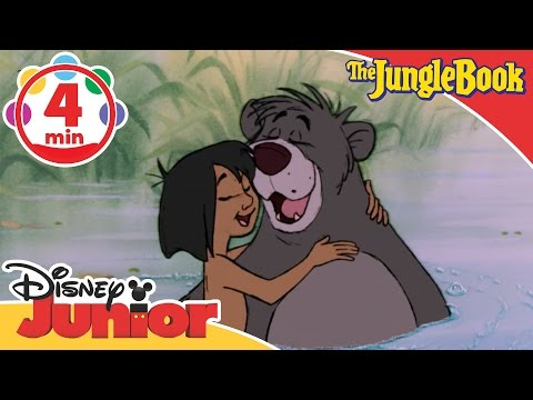 The Jungle Book | The Bare Necessities Song | Disney Junior UK