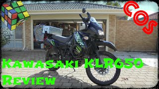 8. Kawasaki KLR650 Review