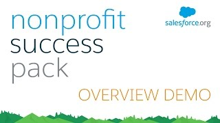 Nonprofit Success Pack (NPSP) for Salesforce - Demo full download video download mp3 download music download