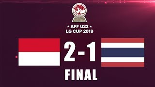 Video INDONESIA VS THAILAND | AFF U-22 LG CUP2019 | FINAL DAN SELEBRASI MP3, 3GP, MP4, WEBM, AVI, FLV Maret 2019