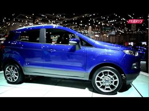 New Ford EcoSport sneak preview – Geneva Motor Show 2013