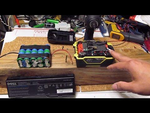 Custom Electric Bike battery: 18650 Li-ion laptop cells vs. cordless power tool cells