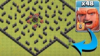 "Video ""THE MINI MAZE BASE""🔸GIANT TROLL EVENT!!🔸Clash Of Clans MP3, 3GP, MP4, WEBM, AVI, FLV November 2017"