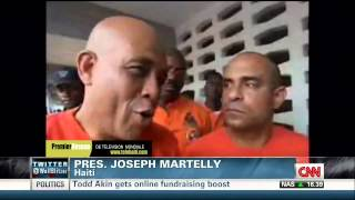 Haiti: Hurricane  Isaac President Michel Joseph Martelly Live  Interview Via CNN