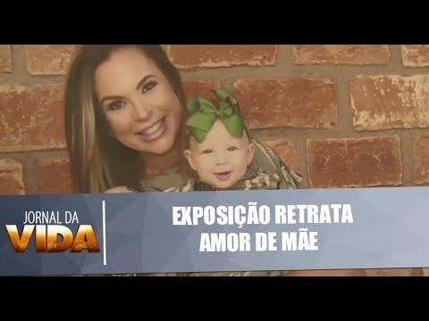 Fotos de amor - Exposição de fotos retratar amor de mães e filhos - Jornal da Vida - 10/05/18