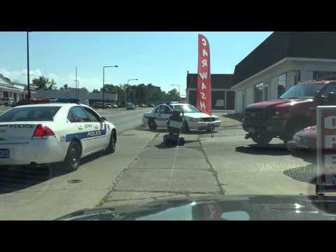 Watch: Police on a LOW SPEED chase!