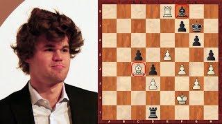 Amazing Game : Magnus Carlsen vs Sergey Karjakin - Tata Steel (2013) - King's Indian Attack (A11)