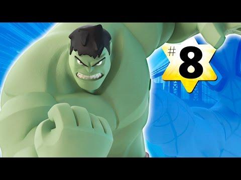 Прохождение Disney Infinity 2.0 Человек паук #8 Халк (Бонус) (видео)